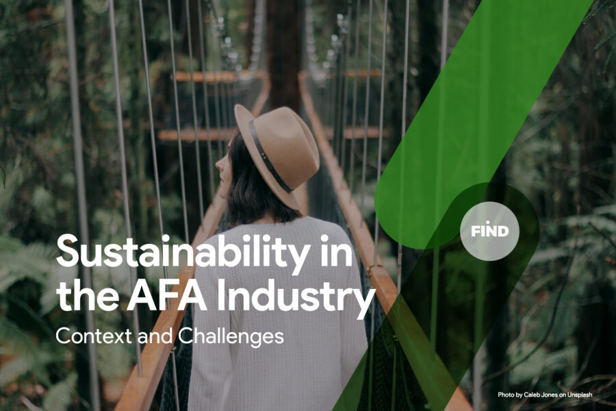 Sustainability in the AFA Industry - a FIND AI Blog Post